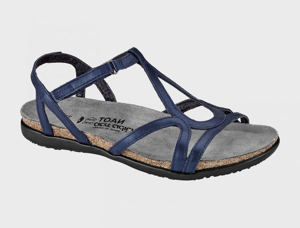 NAOT - Dorith Sandal - Polar Sea Blue Leather