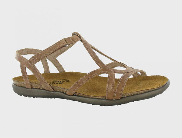 NAOT - Dorith Sandal - Latte Brown Leather