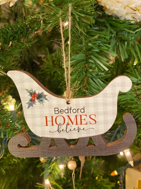 Bedford Homes Believe Ornament