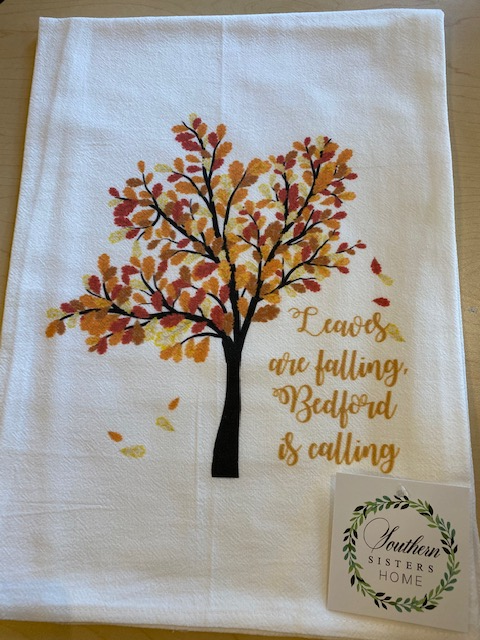 Fall Flour Sack Tea Towels- Bedford