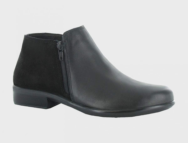 NAOT - Helm Boot - Black Leather/Suede