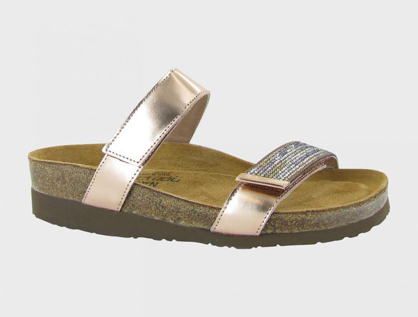 NAOT - Indiana Sandal - Rose Gold