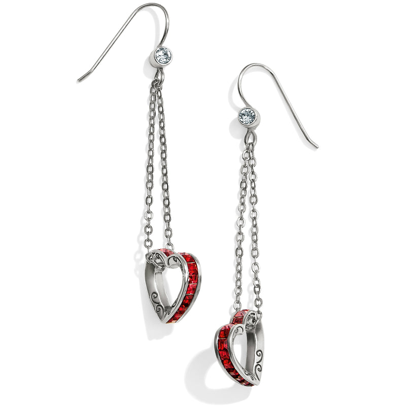 Spectrum Petite Heart French Wire Earrings