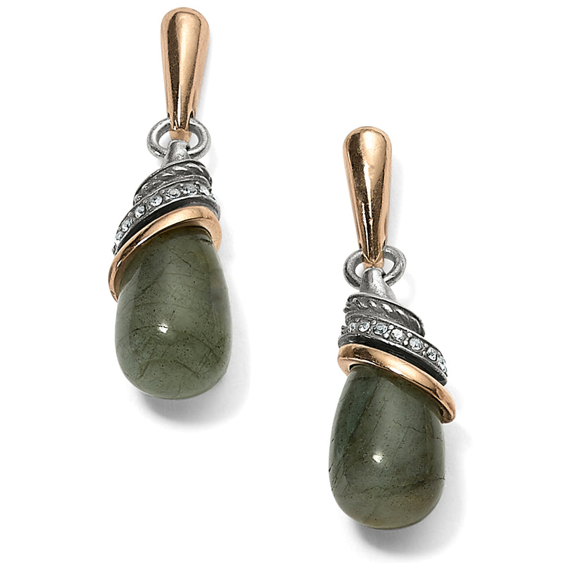 Neptune's Rings Labradorite Teardrop Earrings