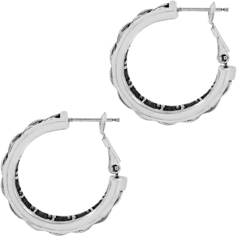 Delicate Memories Hoop Earrings