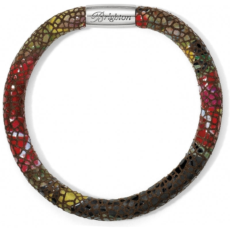 Brighton Woodstock Python Print Single Bracelet