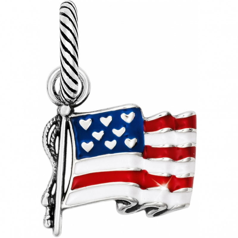 Flag Of Freedom Charm
