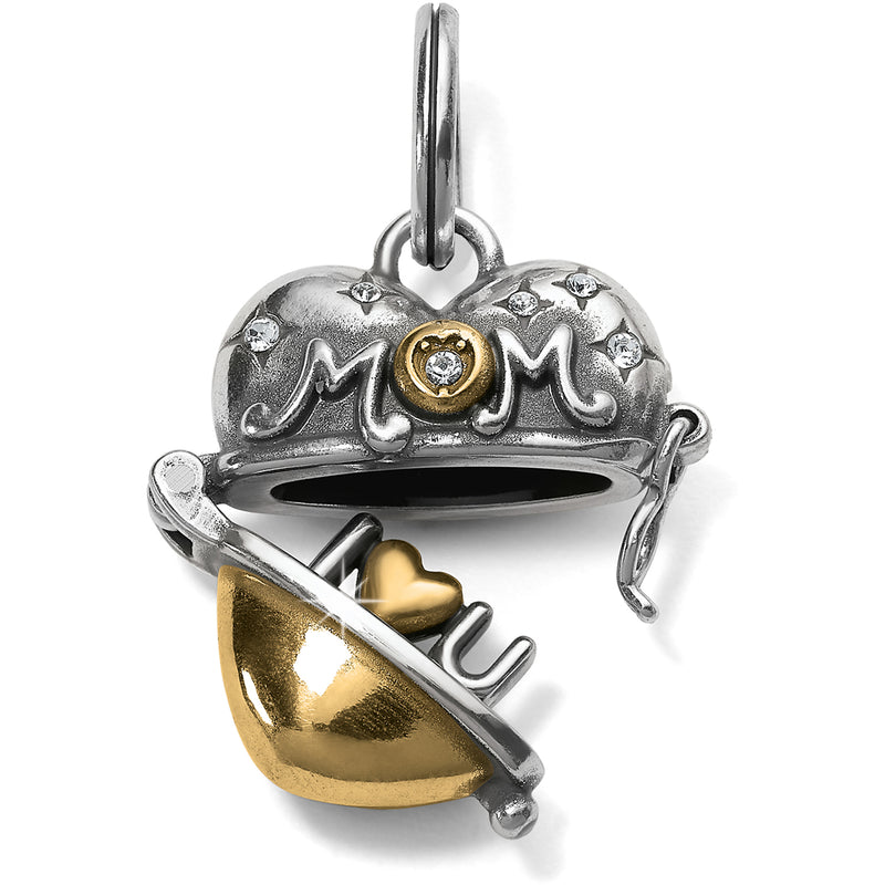 Mother's Love Heart Charm