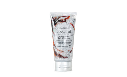 Natural Inspirations Coconut Ambre Vanille Body & Face Scrub