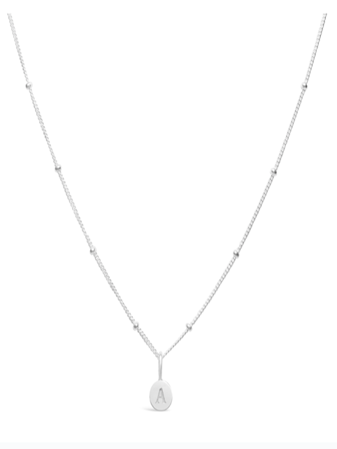 Stia Mini Love Letter Necklace