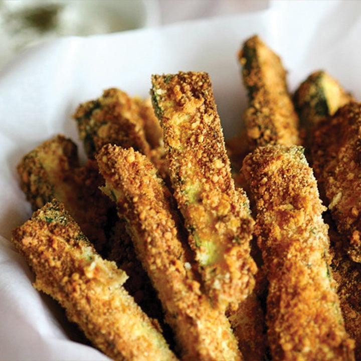 Courgettes frites (10)