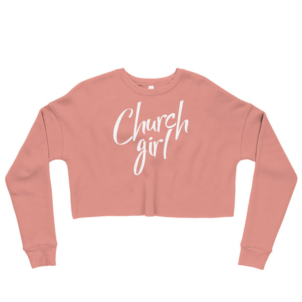 Official Church Girl Crop Sweatshirt