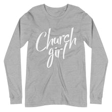 Load image into Gallery viewer, Official Church Girl Unisex Long Sleeve Tee