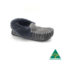 Load image into Gallery viewer, Grey Moccasins