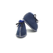 Load image into Gallery viewer, Navy Blue Booties