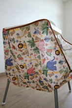 Load image into Gallery viewer, High Chair Food Catcher - Zoo Friends - ToddleQuest
