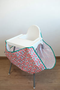 High Chair Food Catcher - Watermelon - ToddleQuest