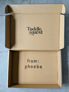 Personalised Gift Box - ToddleQuest