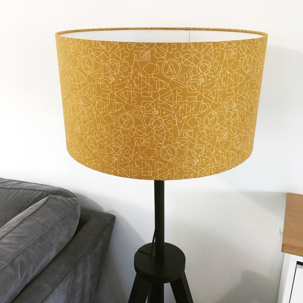 DIY Drum Lampshade