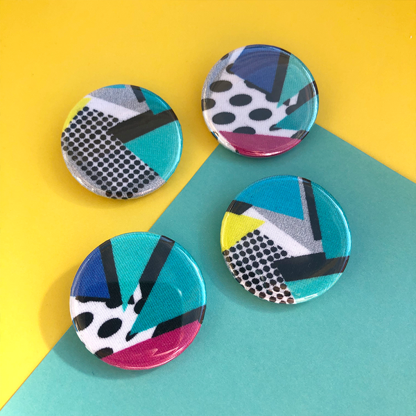 Small Abstract Badges
