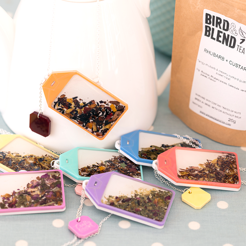 Tea Leaf Teabag Necklaces