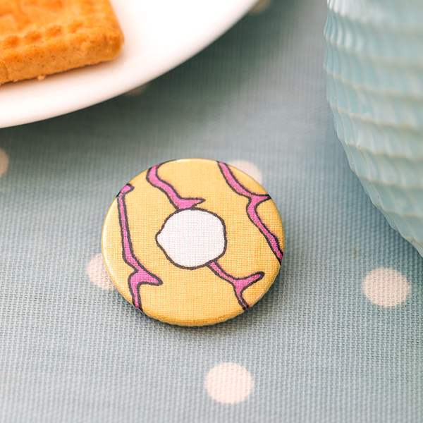 Small Biscuit Badges