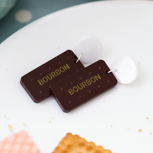 British Biscuit Earrings