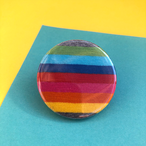 Rainbow Fabric Badge