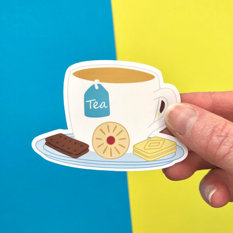 Tea & Biscuits Sticker