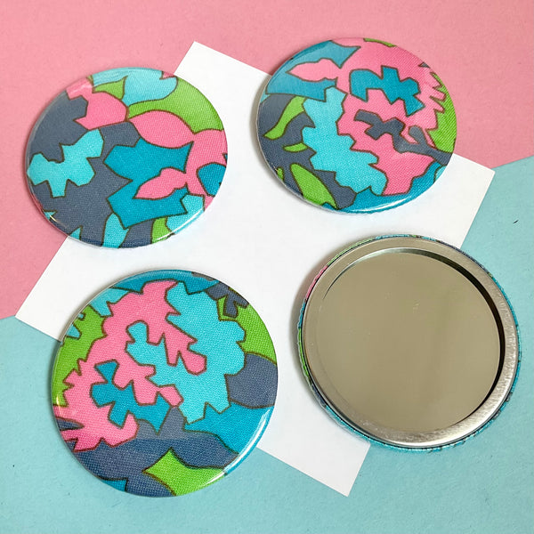 Fabric Pocket Mirrors