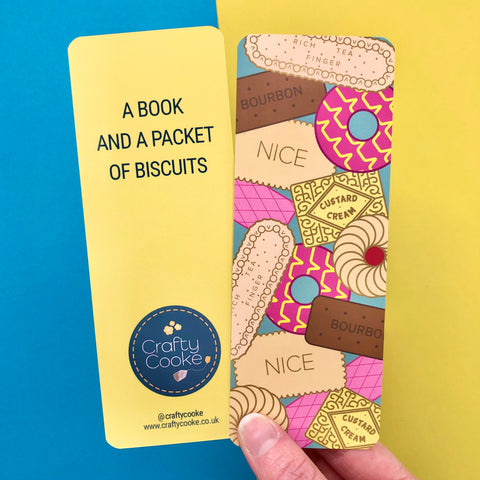 Biscuits Bookmark