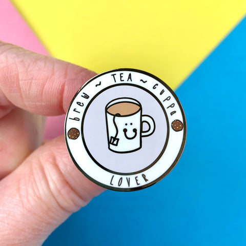 Tea Lover Pin