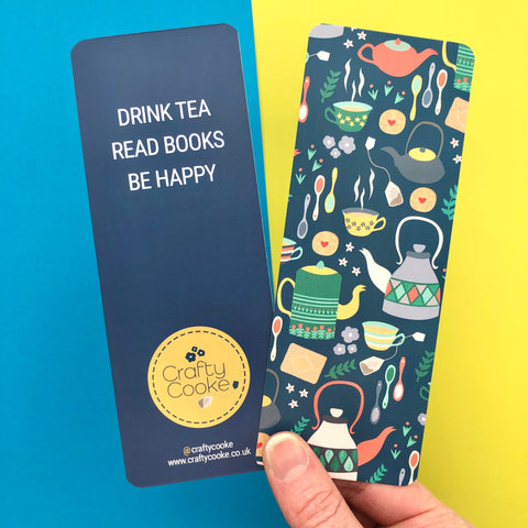 Tea Time Bookmark