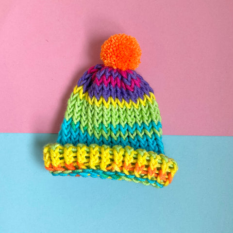 Loom Knitted Hats - X Small