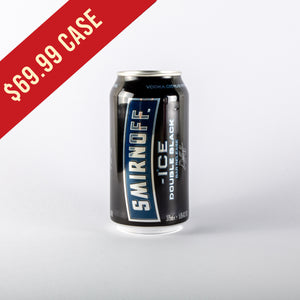 Smirnoff Ice Double Black 375ml Cans