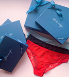 Three bold briefs gift set