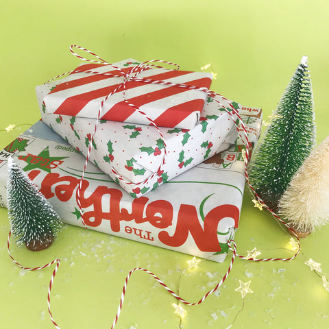 The Northern Star Eco Newspaper Gift Wrap