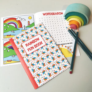 Rainbow Fun Book x5 Party Bag Pack