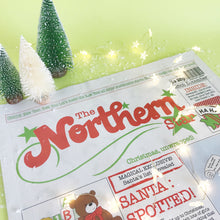 Load image into Gallery viewer, 5 Copies of The Northern Star: Newspaper Gift Wrap Multi buy offer