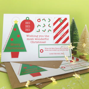 Recyclable Gift Tag Greetings Card