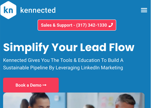 Kennected has A comprehensive automation platform for your LinkedIn sales strategy