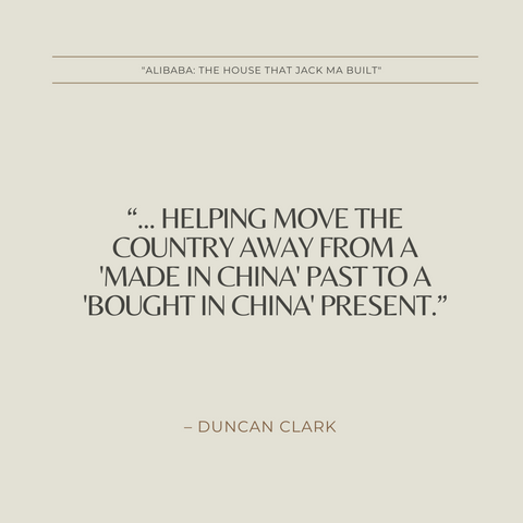 Alibaba Book Summary The House That Jack Ma Built Quote 2