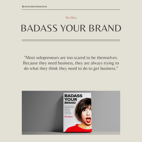 Badass Your Brand Book Summary The Impatient Entrepreneur's Guide to Turning Expertise into Profit Quote 2