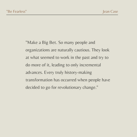 Be Fearless Book Summary 5 Principles for a Life of Breakthroughs and Purpose Quote 3