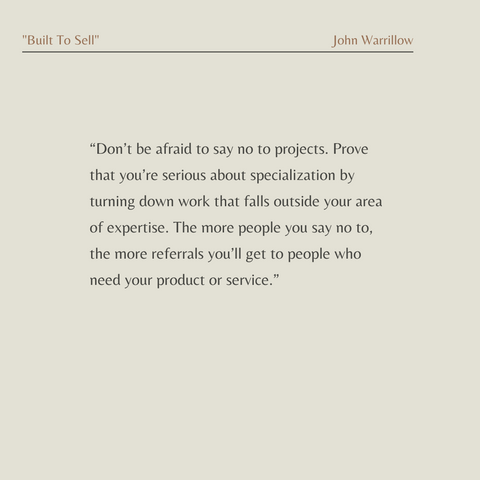 Built To Sell Book Summary Creating A Business That Can Thrive Without You Quote 4