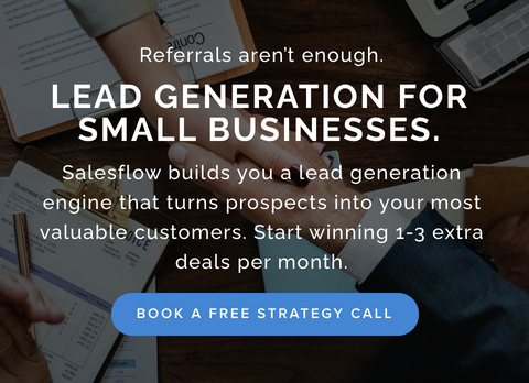 Generate more leads and cultivate connections with Salesflow