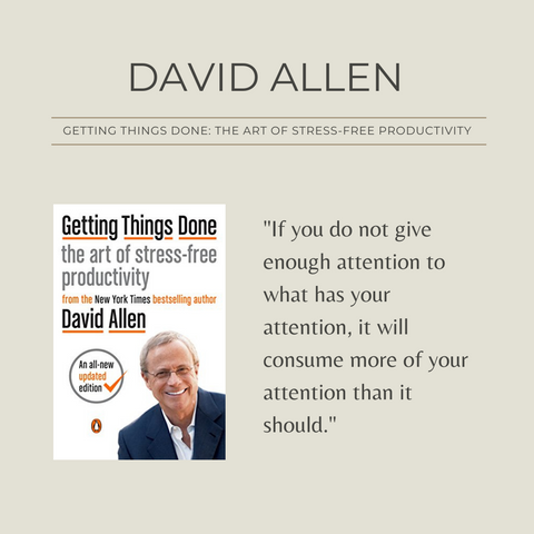 Getting Things Done Book Summary The Art of Stress-Free Productivity Quote 1