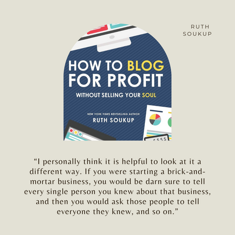 How to Blog for Profit Book Summary Without Selling Your Soul Quote 1
