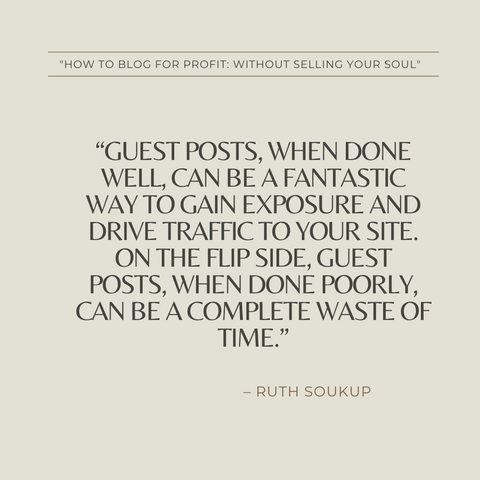 How to Blog for Profit Book Summary Without Selling Your Soul Quote 3