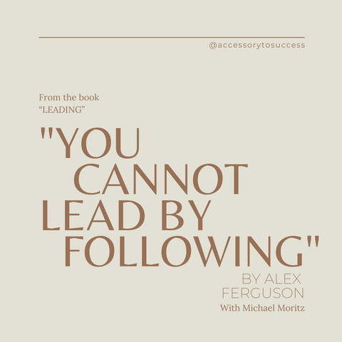 Leading Book Summary Learning From Life and My Years at Manchester United Quote 1